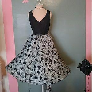BLACK HALO ANTHROPOLOGIE MERLE DRESS  NWT 2
